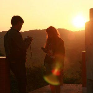 จุดชมวิวพระอาทิตย์ตก เชียงคาน